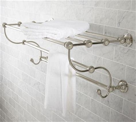 sussex rack polished nickel finish traditional
