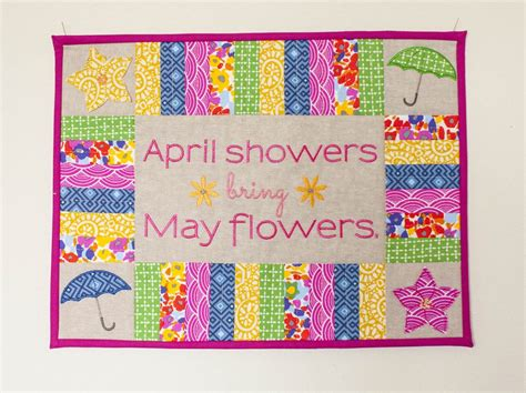April Showers May Flowers by April Showers Bring May Flowers Schlosser Designs