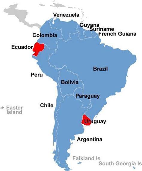 ecuador map in south america map of ecuador south america