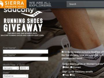 Running Shoe Giveaway - sierra trading post saucony running shoes giveaway sweepstakes
