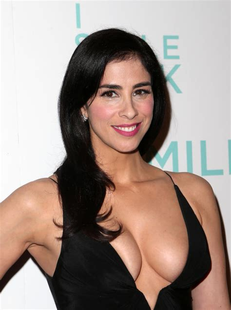 emma mcbride actress sarah silverman s boobs still huge possibly fake the