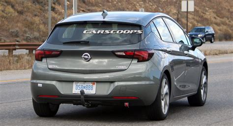 vauxhall usa opel astra spotted testing on roads