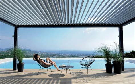 terrassen 252 berdachung mit bioklimatischer pergola