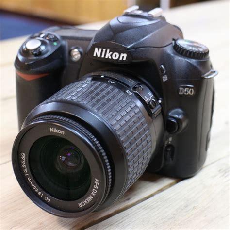 nikon d50 dslr used nikon d50 dslr with 18 55mm f3 5 5 6 lens used