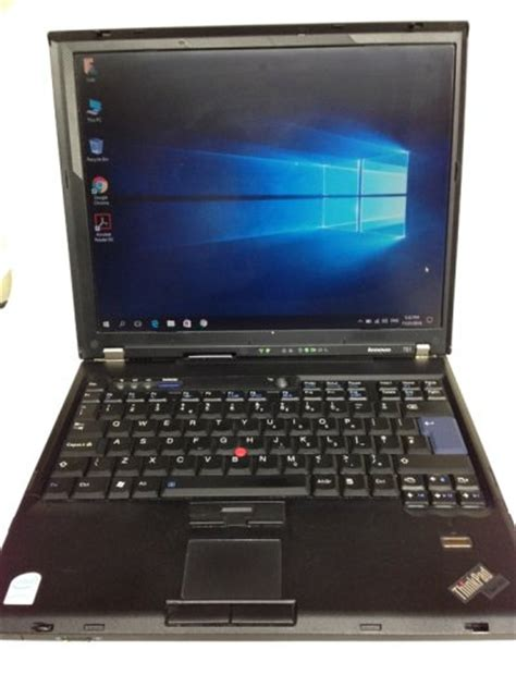 Laptop Lenovo Thinkpad Series strong lenovo thinkpad t61 series laptop in working condition finger print comes with