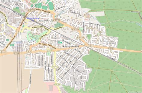 france latitude roissy en brie map france latitude longitude free