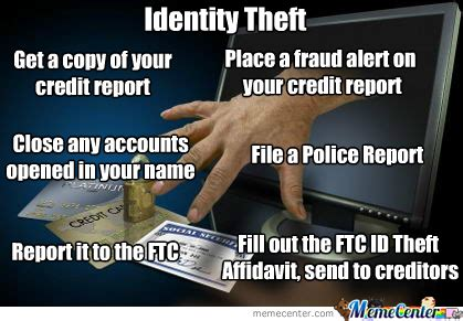 Theft Meme - identity theft by michin70 meme center