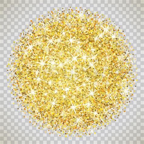 shimmer background gold glitter texture isolated on transparent background