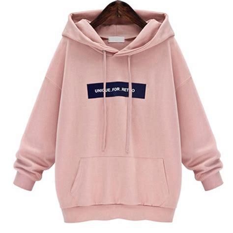 Hoodie Jaket Sweater One Of A Keren plus size hoodie sweatshirt hoodies pullover sleeve hooded pink hoodies