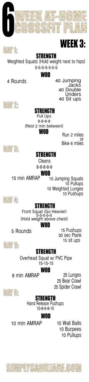 6 week home workout plan 5 week countdown workout plan