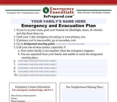 Emergency Evacuation Checklist Template Templates Resume Exles Ymam5zqad9 Emergency Evacuation Plan Template