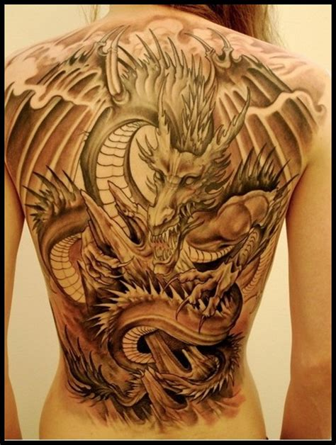 dragon back piece tattoo designs tattoos and designs page 81