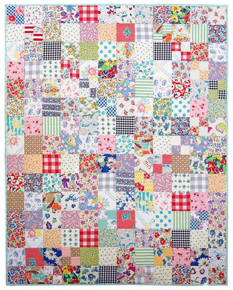 pepper quilts vintage and feedsack fabric quilt