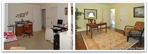 staging before and after pasadena home staging office before and after photo moving mountains design los angeles real