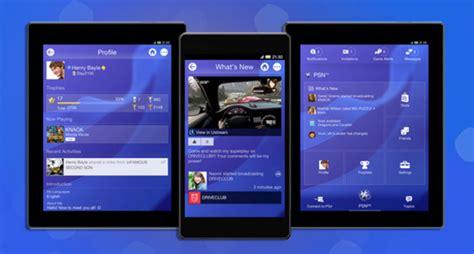 playstation 4 app aplicativo do playstation e messages recebem atualiza 231 227 o