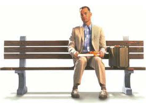 forrest gump on bench 301 moved permanently