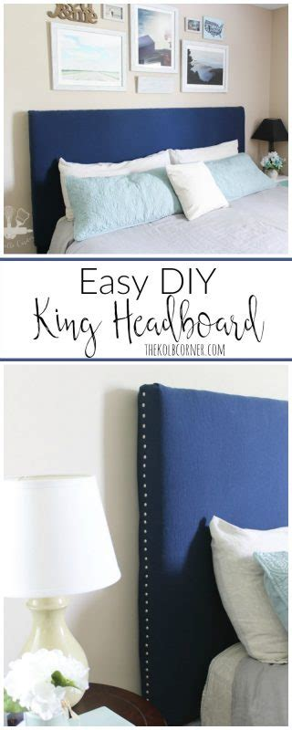 easy diy headboard easy diy headboard domestically creative