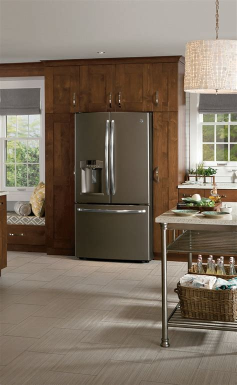 slate gray kitchen cabinets quotes refrigerator surround cabinet design falling waters idea