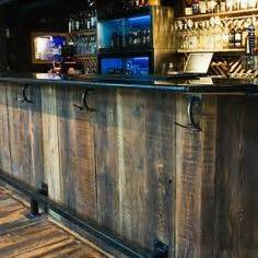 Distressed Bar Top 1000 Images About Cave Bar Ideas On