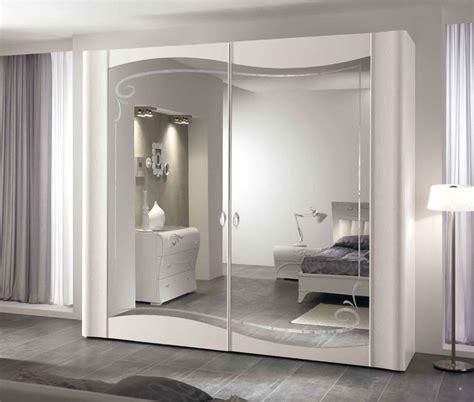 Luxus Kleiderschrank 2tr Massiv Wei 223 Komplanar Spiegelt 252 R