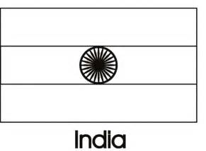 geography blog india flag coloring page
