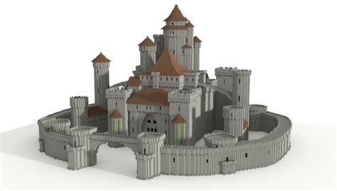 Building Castles by Sandstone Mansion Minecraft House Design