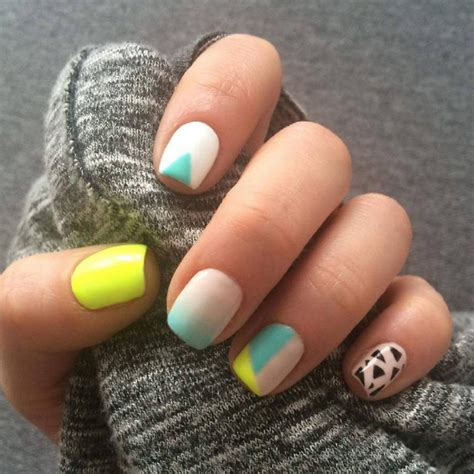 triangle nail art designs ideas design trends