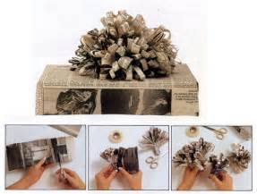 gift wrapping ideas adelle - Gift Wrapping With Newspaper Ideas