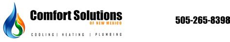 Plumbing And Heating Solutions by Comfort Solutions Homes Comfort Solutions Albuquerque