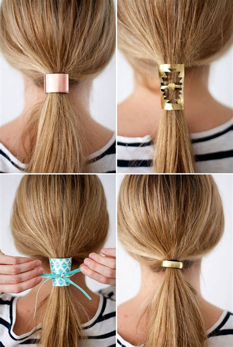 Easy Diy Hair Accessories by Diy Hair Accessories Diy Do It Your Self