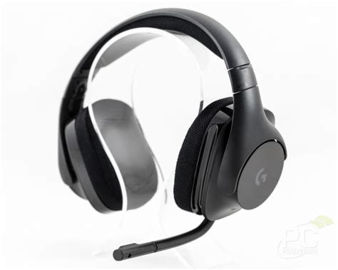 Headset Logitech G533 logitech g533 wireless 7 1 surround gaming headset review pc perspective