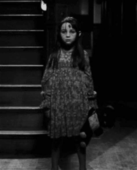 black and white oh the horror scary gif black and white creepy vintage