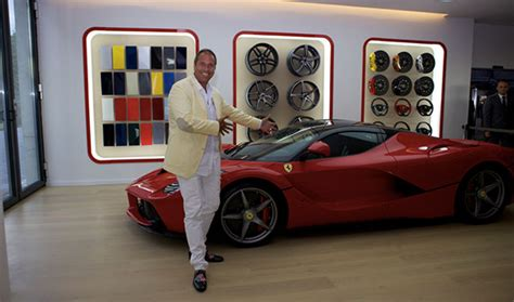 Ferrari M Nchen by Ferrari Saggio Grand Opening Red Carpet F 252 R Die Ps Boliden