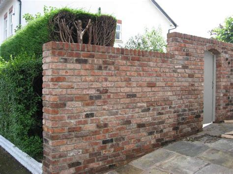 Garden Walls Brickwork Coventry Jp Landscapes Types Of Bricks For Garden Walls