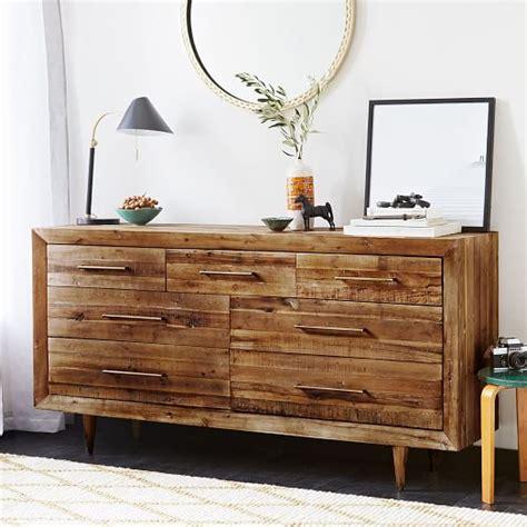 reclaimed wood 7 drawer dresser west elm