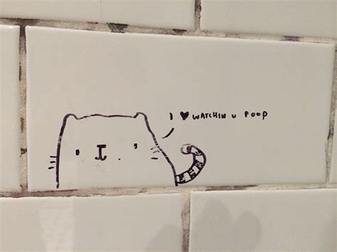bathroom stall quotes 15 inspirational bathroom stall messages to make your day