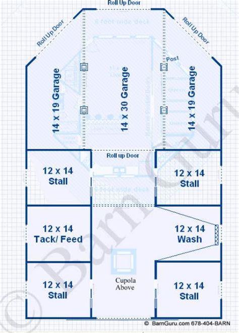 barn plans 4 stall octagon horse barn living quarters apartment barn plans 4 stall octagon horse barn living quarters
