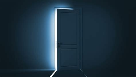 Doors Light by Door Stock Footage