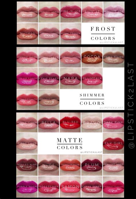 lipsense lip color lipsense lipstick colors