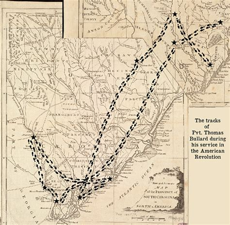 maps their untold stories mappy monday thomas bullard s tracks during the american revolution our families and their