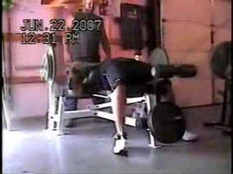 185 bench press 185 pounds 48 times incredible bench pressing video