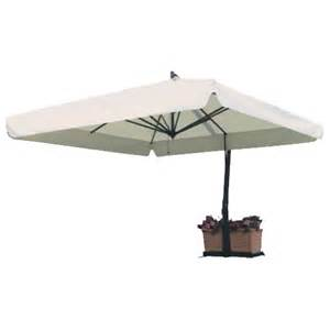 Offset Rectangular Patio Umbrella Fim P Series 10 Foot X 13 Foot Rectangular Offset Model P19