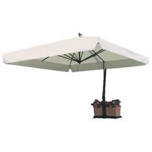 Rectangular Offset Patio Umbrella Fim P Series 10 Foot X 13 Foot Rectangular Offset Model P19