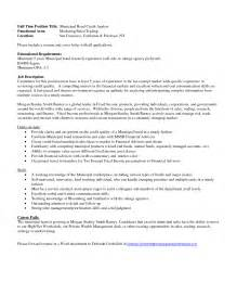Credit Analyst Cover Letter Exle Cover Letter For Change Of Career Path