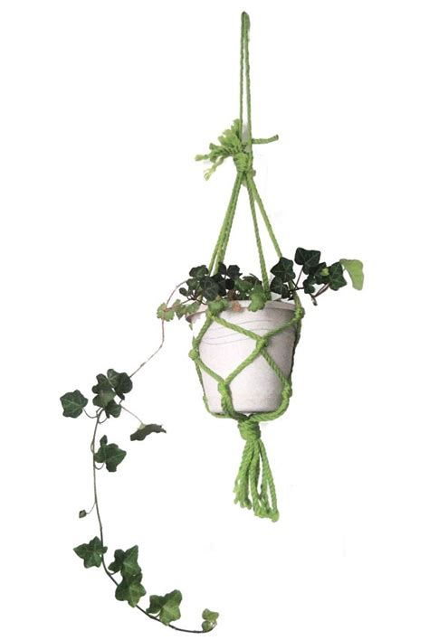 Make Your Own Macrame Plant Hanger - make your own neon green macrame plant hanger arts and