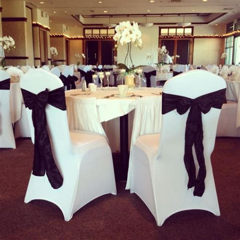 black taffeta chair sashes our modern white spandex chair covers black crinkle