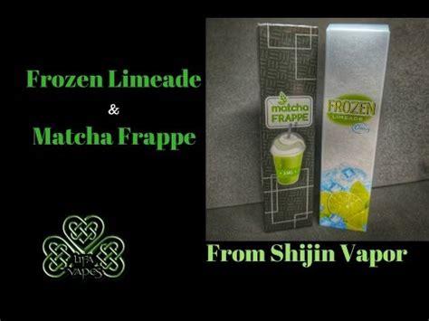 Screaming E Juice Matcha frozen limeade matcha frappe shijin vapor e liquid review lifa vapes
