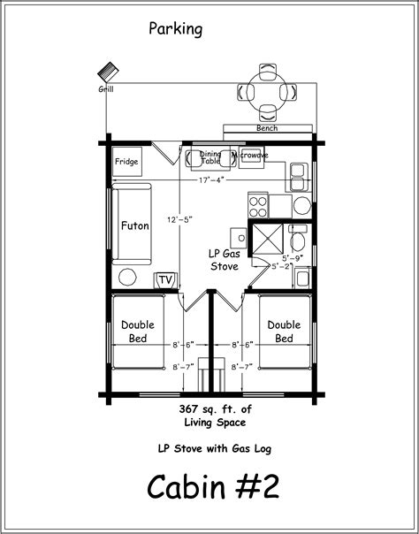 two bedroom cottage floor plans 2 bedroom log cabin floor plans 2 bedroom cabin plans two