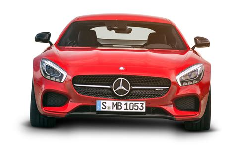 cars mercedes red mercedes amg gt red car front png image pngpix red car