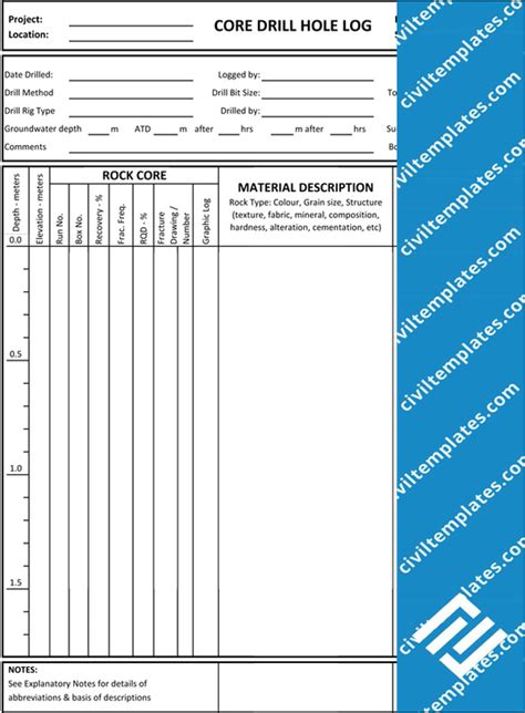 Geotechnical Investigation Report Template Geotechnical Investigation Civil Engineering Templates